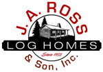 J. A. Ross & Son Inc. Log Home Professionals